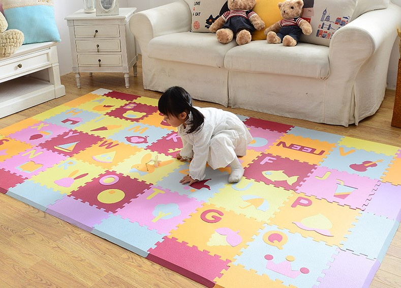 Rainbow Foam Mat for Baby