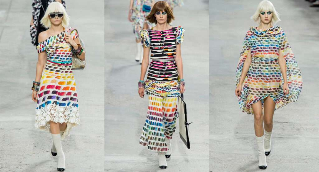 Chanel Rainbow fashion