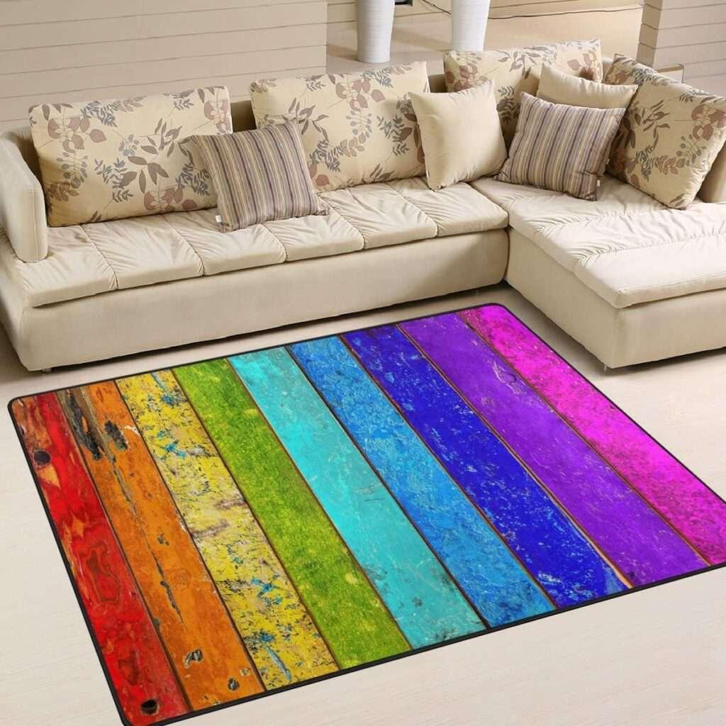 Rainbow mats