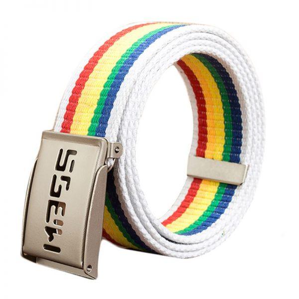 Man Rainbow Belt