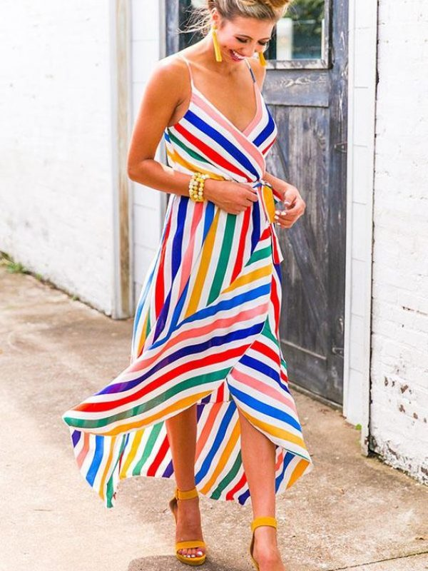 Rainbow Womens Dresses 2021