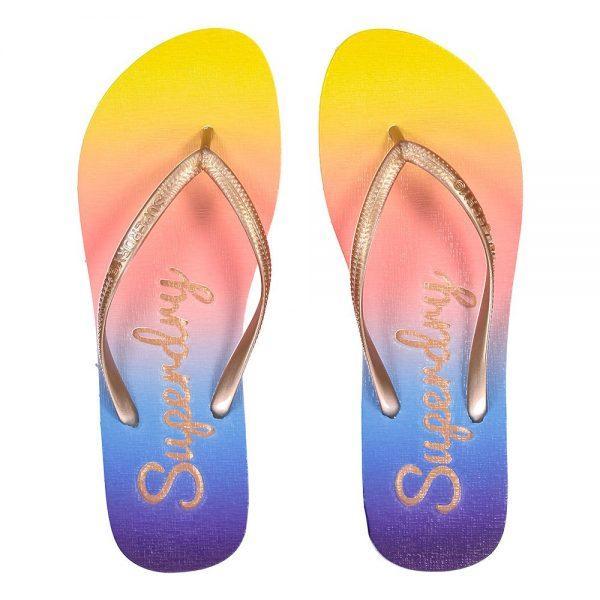 rainbow-flip-flop