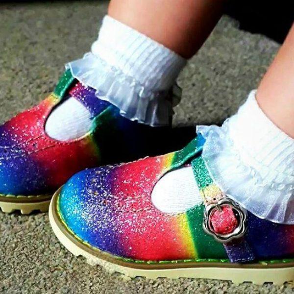 Rainbow kids Shoes