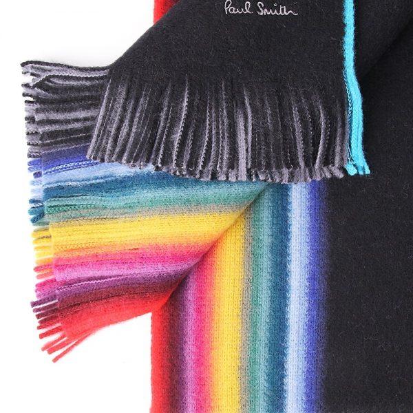Rainbow scarf for men