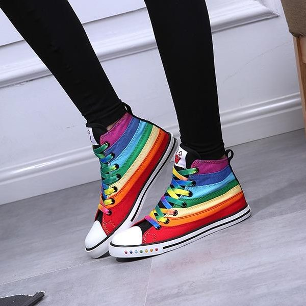 Rainbow Womens Shoes